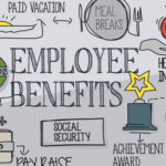 Illustration about employee benefits
