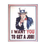 I want you to get a job graphic