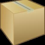 Cardboard box graphic